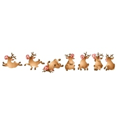 Reindeer Collection vector