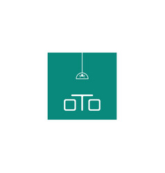 Sofa chair logo furniture design icon element vector