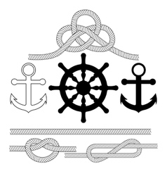 on the theme of sea vector image