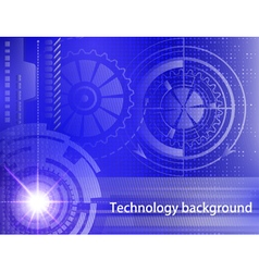 Abstract technology background Concept of industri vector image