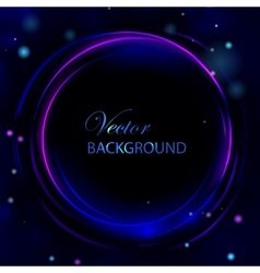 Circle light abstract background vector image vector image