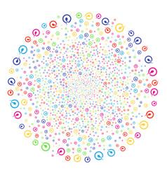 Insemination burst spheric cluster vector