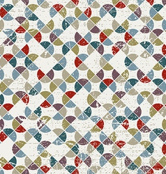 Abstract mosaic seamless background geometric vector