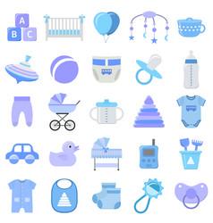 baboy icons set vector image