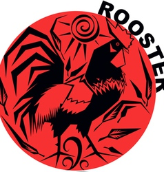 Chinese Horoscope rooster vector