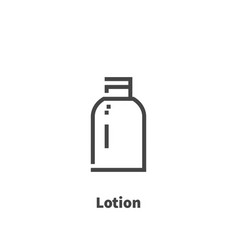 lotion icon symbol vector image