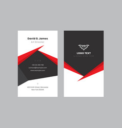 modern and elegant business card templates vector image