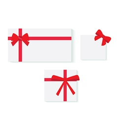 objects gift wrapping vector image