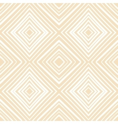 Seamless hand drawn beige zenart pattern vector