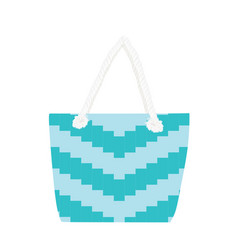 summer fashionable bag vector image