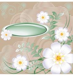 Background floral vector