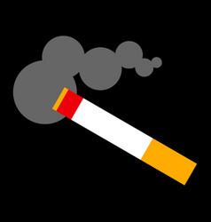 Cigarette smoking vector