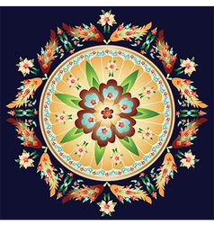 Oriental pattern and ornaments vector