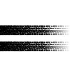 Tire tracks with dots vector
