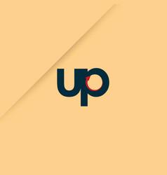 Up logo template design vector