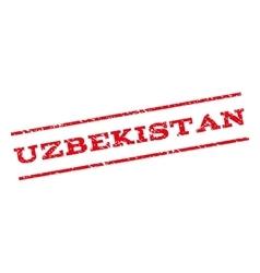 Uzbekistan Watermark Stamp vector