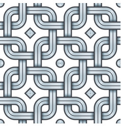 Viking seamless pattern - engraved silver vector