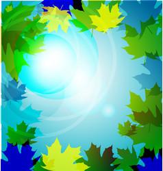 paper leaf vector image