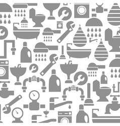 Sanitary technician background vector image vector image