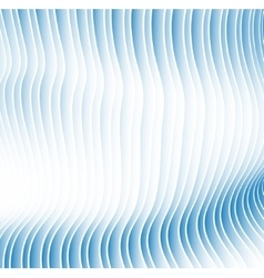 hypnotic background from sheets and strips with a vector image vector image