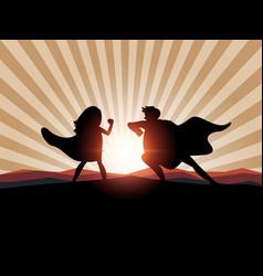superhero business man concept vector image vector image