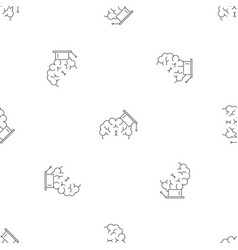 brain graduated pattern seamless vector image
