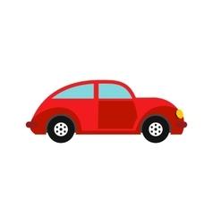Car vintage car icon flat style vector
