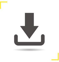Download arrow icon vector