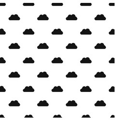 flying cloud pattern seamless vector image