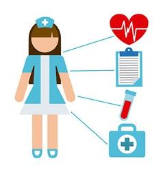 Nurse concept vector