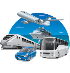 Transports for travel vector