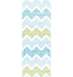 Fabric textured chevron stripes vertical seamless vector image vector image