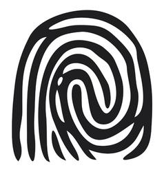 finger print - fingerprint vector image