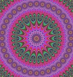 Abstract oriental star mandala design background vector