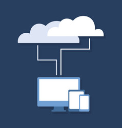 Cloud technology2 vector