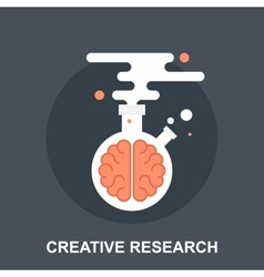Creative Research vector