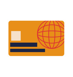 Credit card online payment financial operations vector