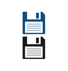 floppy disk diskette graphic design template vector image