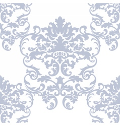 floral damask baroque ornament pattern vector image