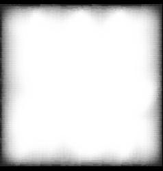 halftone grunge pop art frame vector image