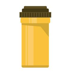 medical bottle pills pharmacy vector image