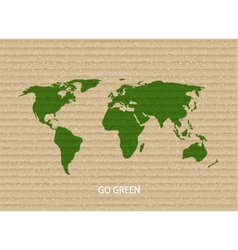 Modern go green background vector