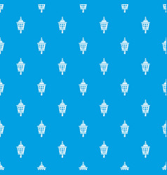 mosquito trap pattern seamless blue vector image