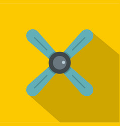 Propeller icon flat style vector