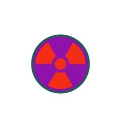 Radiation Icon vector image