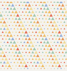 seamless triangle halftone gradient pattern vector image