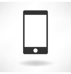 Smartphone Simply Icon vector image vector image