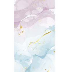 abstract acrylic luxury marble decor watercolor vector image