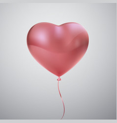 Balloon heart vector