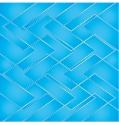 Blue background with golden lines vector